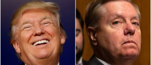 President Trump Mocks Lindsey Graham: He Wants '200 Years' of War with 100K+ Troops in 'Every Place'
